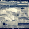 酸化・湿気の予防に!ダイソーのおしゃれなジッパー式保存袋(アルミタイプ)。