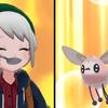 【剣盾】 色違いアブリー  と進化後はミカサ?