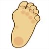 赤ちゃんの足の指が多い…あれ?誕生のその日に気付いた異変