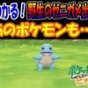 【ピカブイ】2分でわかる!野生のゼニガメ出現場所!あのポケモンも…!(゚ロ゚;)