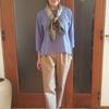 くすみ色を足すカラーアイデア|手持ちの夏服をオータムコーデに簡単シフト
