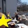 〈ひかり〉3月のお誕生会&中庭での食事🍴