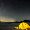 キャンプ場で寝袋に包まってふたご座流星群を見るための方法!