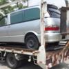 川越市から他府県ナンバーの車検切れ故障車の外車をレッカー車で廃車の引き取りしました。