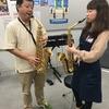 【楽器の日イベント】サックス体験会実施しました!