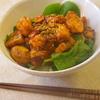 サーモンの韓国風照り焼き丼