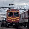 鉄道の日常風景55…過去20170217近鉄橿原神宮前駅、事業車の作業