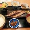 西川口の「一徳」でさんま定食を食べました★