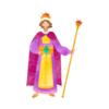 王様の生活を想像する