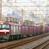 11月15日撮影 東海道線 平塚~大磯間 貨物列車撮影 金太郎1号機の2079ㇾ 1155ㇾ