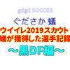 ウイイレ2019スカウト~蟻がスカウトで獲得した選手記録~DF&GK編~