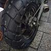#バイク屋の日常 #ヤマハ #TW225 #タイヤ交換 #ブリジストン