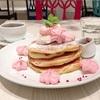 いちごゴロゴロ♡サクラミルフィーユパンケーキ(Butter @横浜)