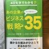 「40文字でわかる!あの企業のビジネス戦略35」がPODで紙の出版