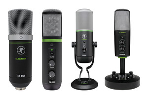 「MACKIE. EM-91CU / EM-USB / Carbon / Chromium」製品レビュー:音楽制作からストリーミング配信まで対応するUSBマイク・シリーズ