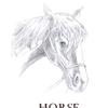 まだ続いています。馬のイラスト