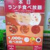 インド料理どっと混む 秋葉原店 1000円ランチ
