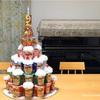 じゃがりこタワーケーキを作って子供の誕生日パーティをしました♪