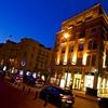 ベイルート夜景 ヨーロッパぐらい治安はいいので町歩きは平気。