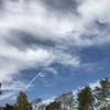 のんの旅立ちと飛行機雲