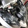 マジェスティ4D9のLEDヘッドライト交換