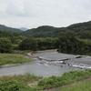 ちょっと道草 201018  四万十川ウルトラマラソンの周辺1  曲線斜め堰  沈下橋