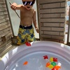 【おうち遊びの工夫】プラレール釣りの失敗を生かして魚釣りゲームでリベンジ!