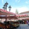 ドイツ、ニュルンベルクで街歩き。旧市街、中世の面影を残す街並みは絶景