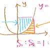 二次関数の定積分: 1/6 公式(2)