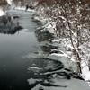 monochrome…豪雪の里 西和賀町錦秋湖畔 ❅