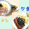 【DON部】ヨメ不在の日の昼メシと夕飯
