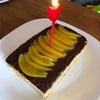 誕生日ケーキ作りました