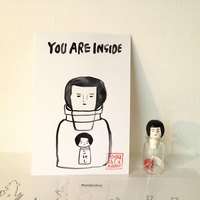 ART展「YOU ARE INSIDE」@WISH LESS gallery 始まりました!