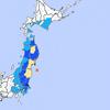 福島県沖で震度4の地震発生マグニチュードM6.0津波の心配なし