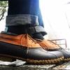 雨の日の足元はこれ一択。L.L.Beanのビーンブーツ