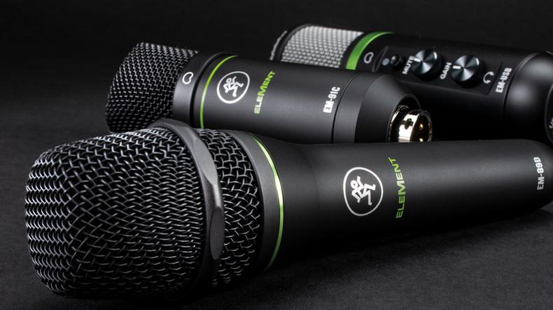「MACKIE. Element Series」製品レビュー:音質と耐久性を両立した単一指向性ダイナミック&コンデンサー・マイク
