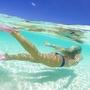 【レビュー】GoPro用アクセサリー「ドームポート」を使って水中と水面を半分ずつ撮影してみた
