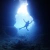 ♪マンツーマンで幻想的な青の洞窟へ♪〜沖縄那覇青の洞窟少人数ダイビング〜