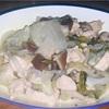 鶏肉で肉野菜炒め ヘルシオホットクックで自炊(110)