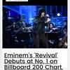 エミネムの新アルバム「リバイバル」がBillboard 200で1位を獲得