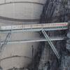 ダム前の橋