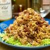【レシピ】春キャベツが100倍美味しい♬カリカリ豚こまの香味ダレ♬