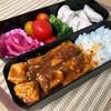 麻婆豆腐に厚揚げ追加、そろそろ七夕の準備です @減量めし