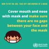 【COVID-19】【新型コロナウイルス】WHOマスクのつけ方、外し方(日本語訳)【2019-nCoV】