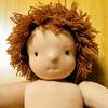 【コロナと私⑥】我が子の誕生日に、手作りのウォルドルフ人形を・4(髪の毛編)