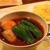スープカリィ厨房 ガネー舎 「とりなすカリィ」@新橋&汐留