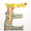水彩画「Elephant / Euphoniumist」
