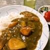 カレー  (中国妻料理) (昨日の残り)