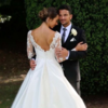 Peter Andre marks his first wedding anniversary
