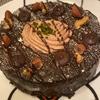【Tops】チョコレートシフォンケーキを食べました